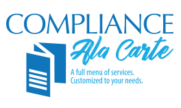 Compliance Ala Carte